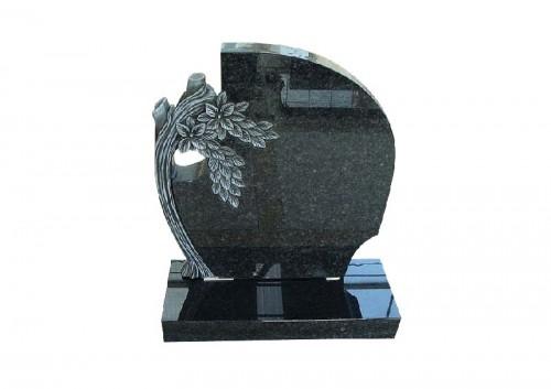 grafsteenrode zwart graniet