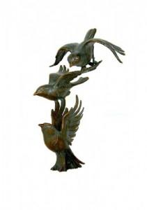 Bronzen vogel