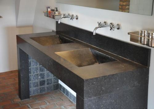 Stunning wasbak badkamer natuursteen fotos ideeën & huis inrichten