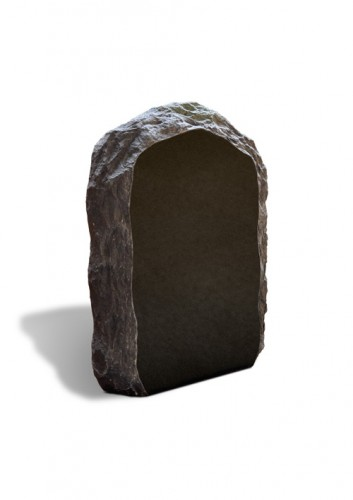 Grafmonument zwart gekloofde rand