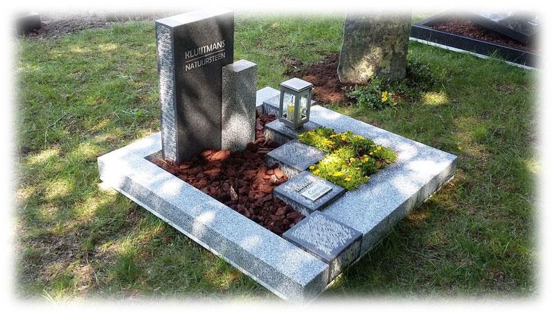 Urnen en gedenkplaats