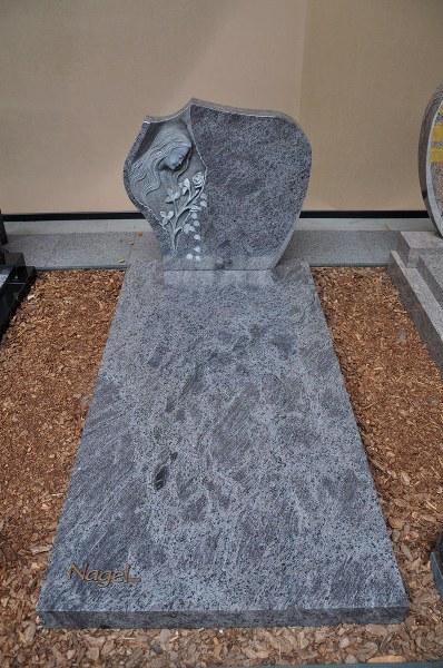 Grafsteen grijs