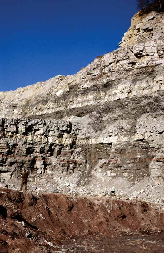 kalksteen groeve